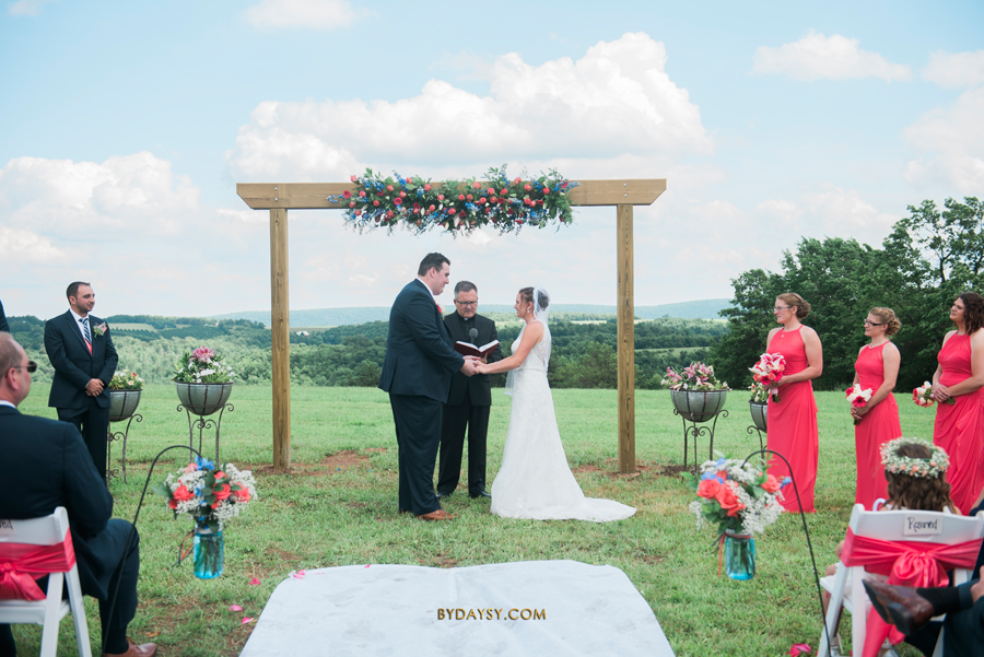 Best Tips on How to Hire Your Wedding Photographer, Wakefield Legacy Farm Wedding, rustic wedding, countryside wedding photographer, Swanton MD, lace wedding dress, drone wedding photographer, drone wedding videographer, moon bounce, smores, mountainside wedding ceremony, outdoor wedding, Maryland, wedding reflection, wedding fountain, classic wedding, antique wedding venue, outdoor wedding photography, blue and green wedding, Maryland wedding photographer