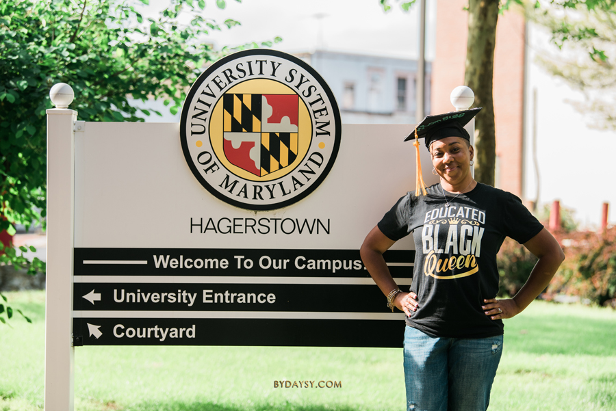 university system of maryland hagerstown sign