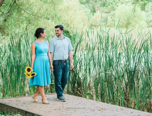 Nature Lovers, Engagement Session at Rust Nature Sanctuary, Leesburg VA ~ Jewel & Paul