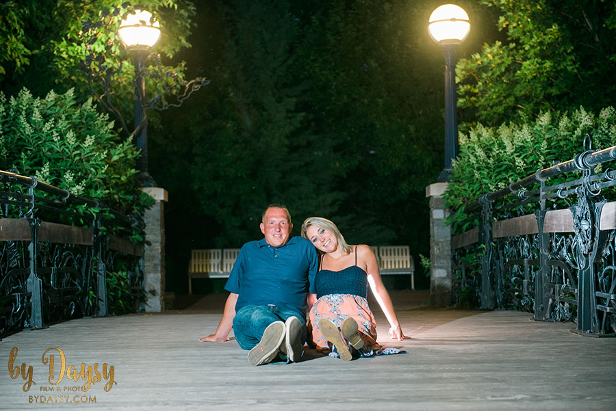 monocary battefield frederick downtown engagement session