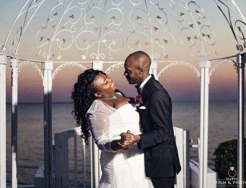 Celebration at the Bay Sunset Winter Wedding – Pasadena, MD ~ Elizabeth and Wayne