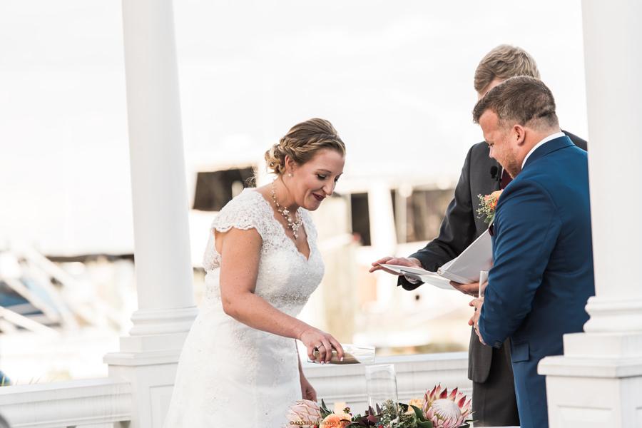 Chesapeake Beach Resort and Spa during wedding ceremony