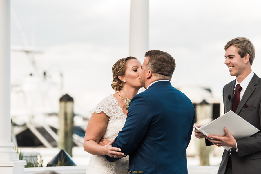 kiss Chesapeake Beach Resort and Spa wedding