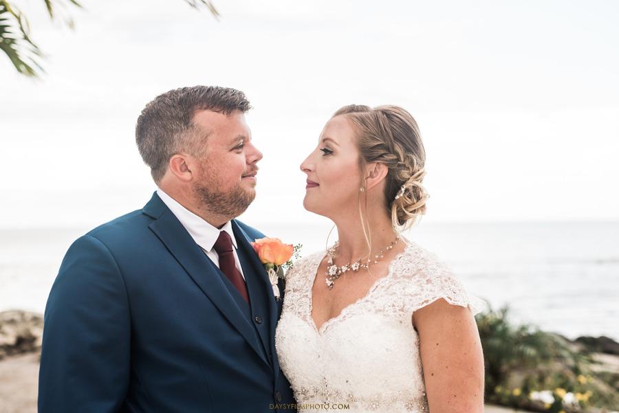 Chesapeake Beach Resort and Spa wedding bride and groom
