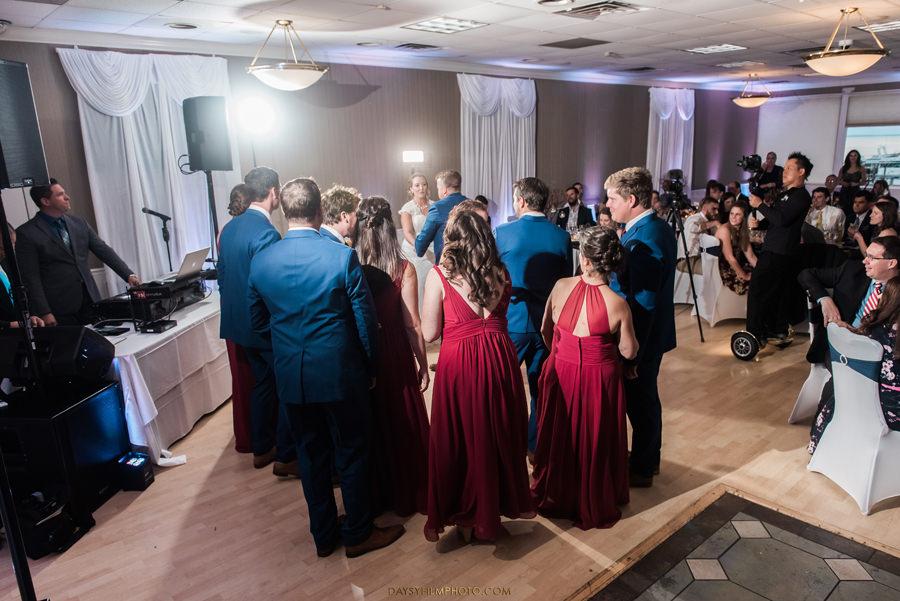 Chesapeake Beach Resort and Spa bride and groom dancing