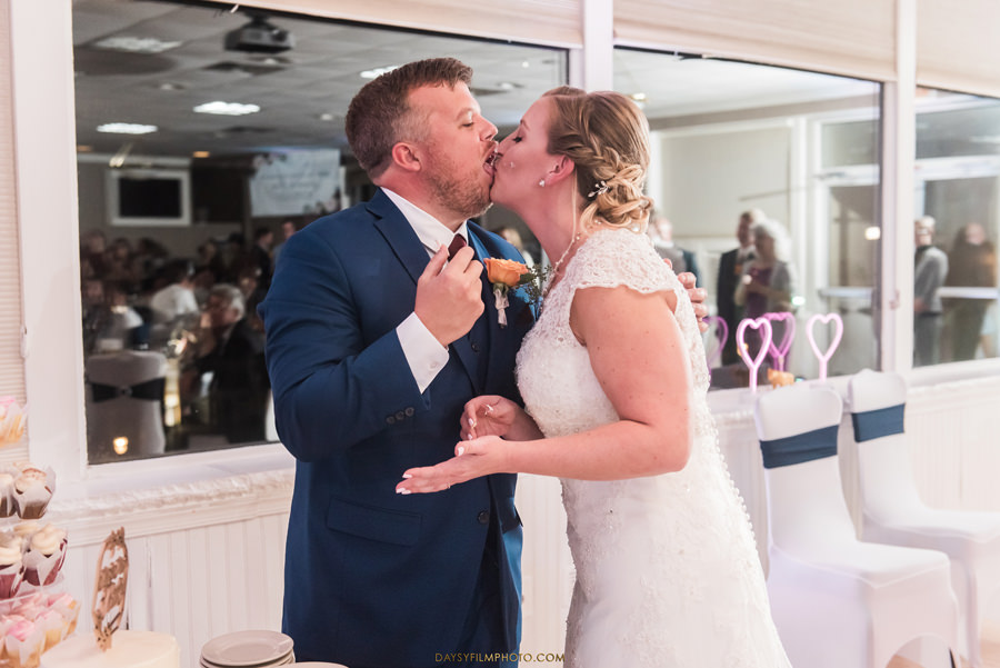 Chesapeake Beach Resort and Spa bride and groom cake
