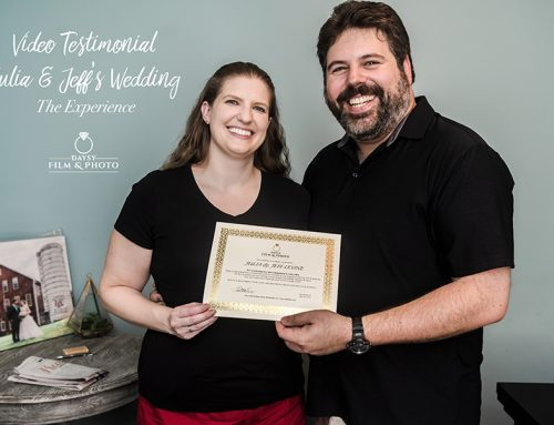 Video Testimonial: Julia and Jeff's Star Wars Wedding. The Experience!