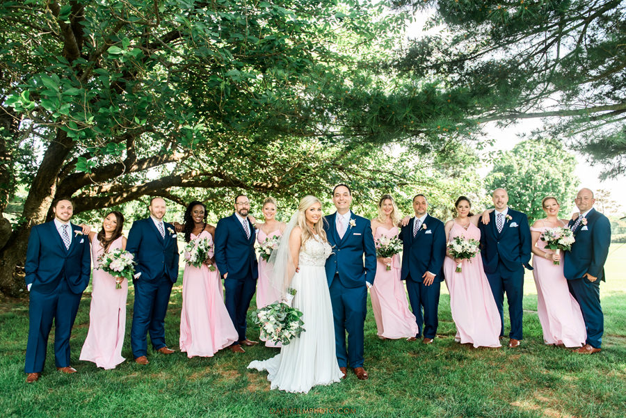 Manor Country Club rockville md Wedding bridal party