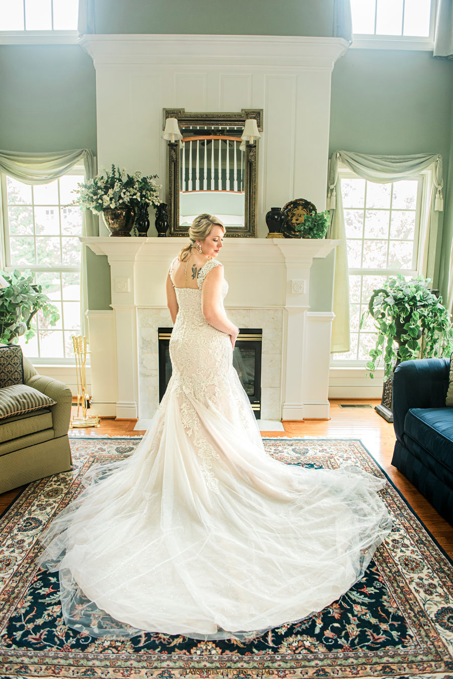baltimore bride portrait