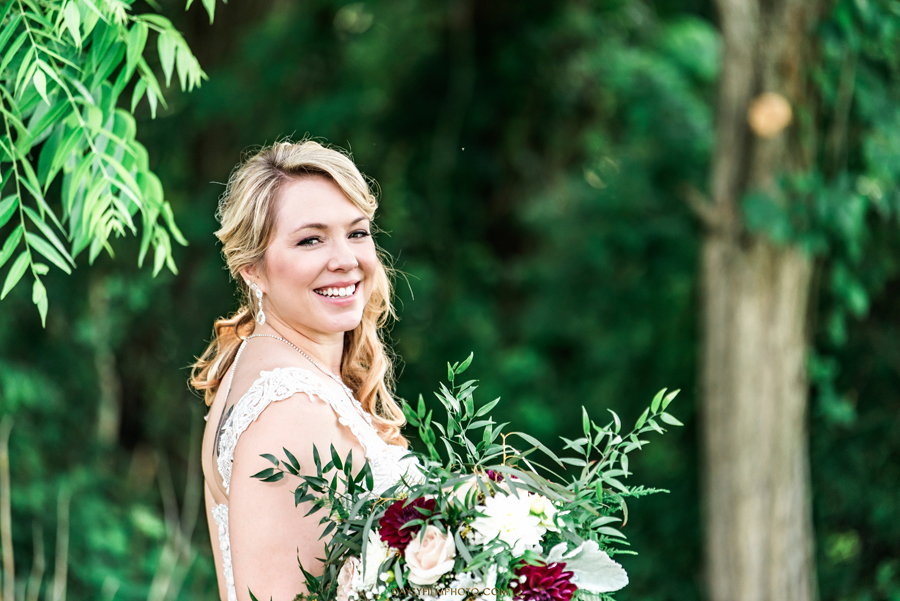Vineyard of Mary's Meadow bride portrait