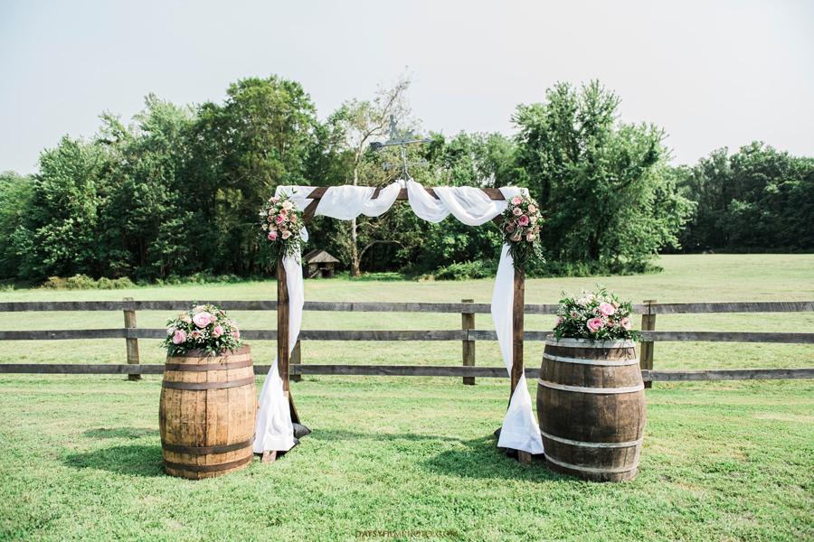 Vineyard of Mary's Meadow outdoor wedding