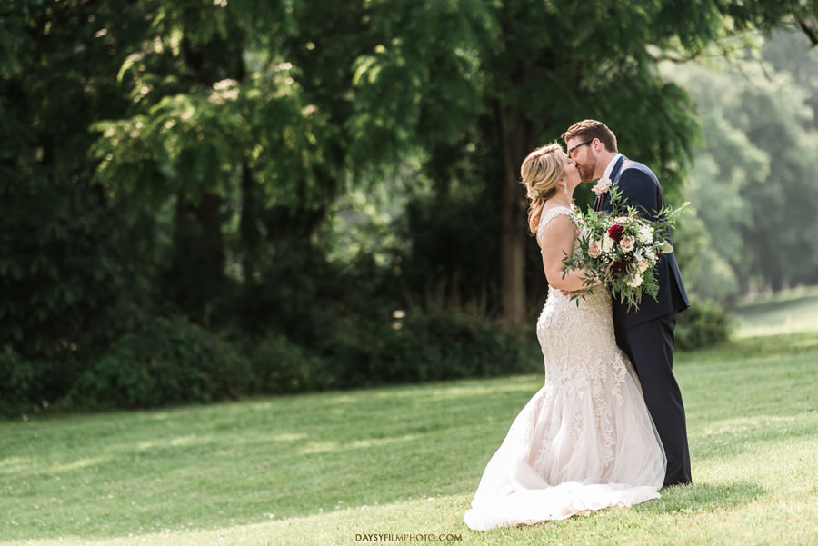 Vineyard of Mary's Meadow wedding photos