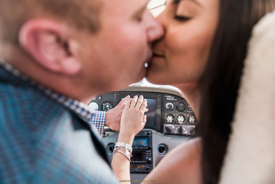 Pittsburgh pa airplane engagement photos