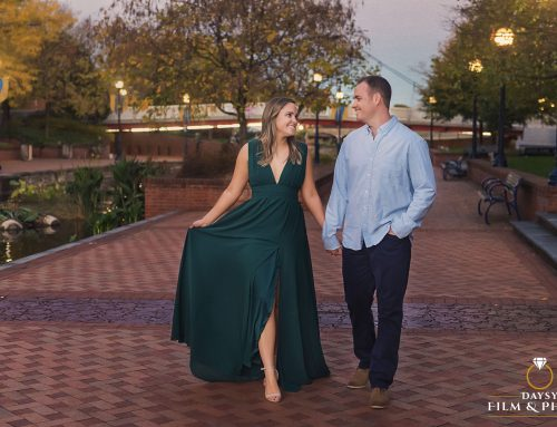 Emily and Brad, Two Lacrosse Coaches Engaged ~ Frederick Downtown MD