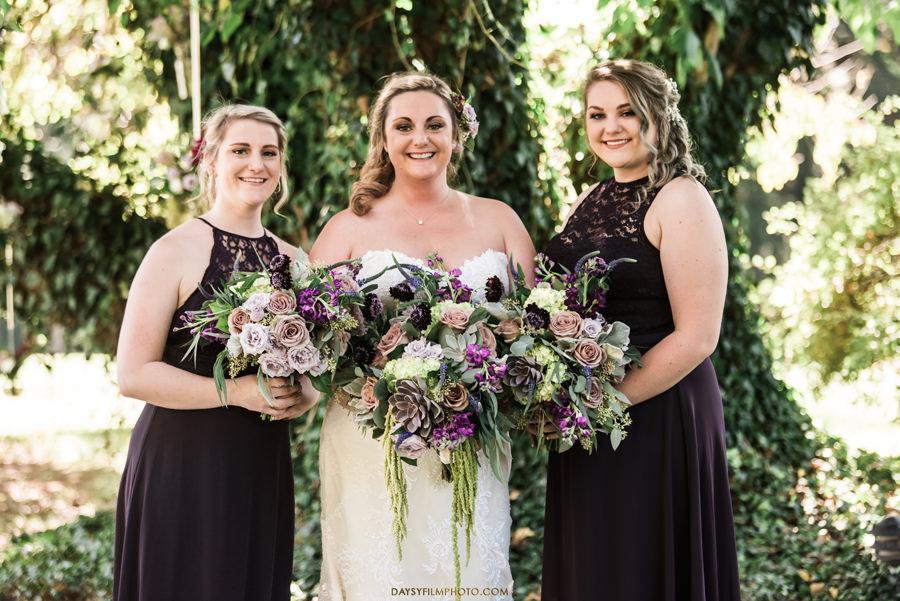 Antrim 1844 Inn Taneytown, MD bridesmaids oaktree