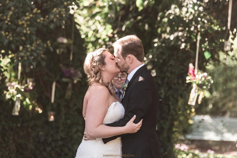 Antrim 1844 Inn Taneytown, MD oak tree bride groom kissing