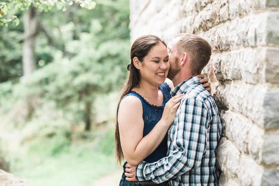 Gambrill State Park Engagement Photos couple