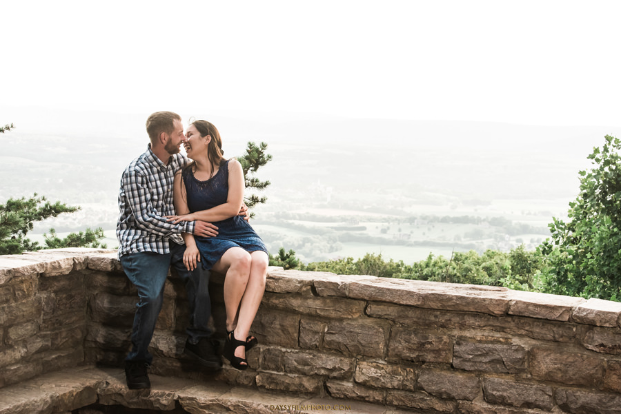 Gambrill State Park Engagement overlook photos