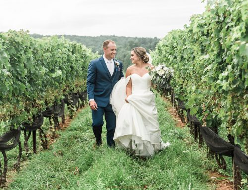Sneak Peek: Stone Tower Winery, Leesburg VA Wedding ~ Emily + Brad