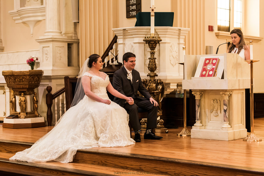 St. John the Evangelist Catholic Church Wedding ceremony