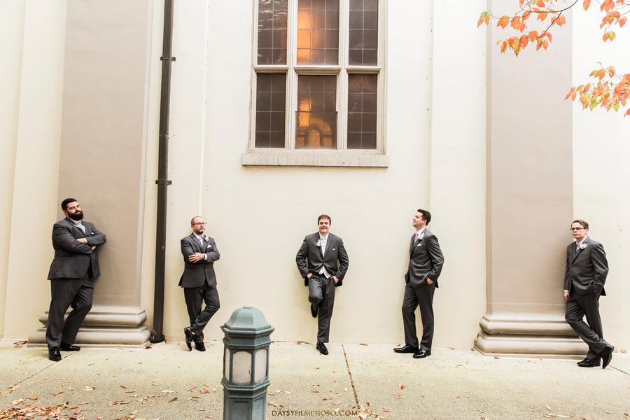 St. Johns Catholic Church Wedding Groomsmen