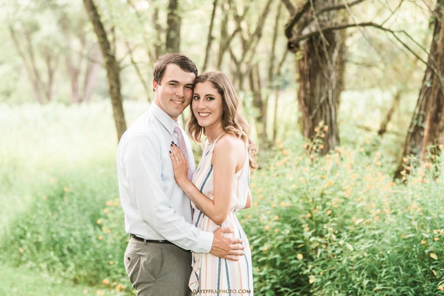 Monocacy battlefield bride and groom photo